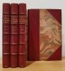 Souvenirs, impressions, pensées et paysages, pendant un voyage en Orient (1832-1833), ou notes d'un voyageur.. LAMARTINE (Alphonse de).