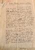 """Manuscrit autographe signé,  """"Gustave Roud, marcheur nocturne"""".. ROUD] BORGEAUD (Georges)."""