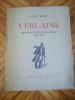 VERLAINE (en suivant le pauvre Lélian) 1895 - 1896.. ARESSY (Lucien)