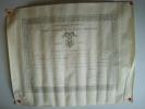 Grade d'Officier de l'Ordre National de la Légion d'Honneur décerné à M. Pouvreau, Jean-Baptiste-Marie-Gustave. .