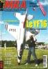 Le Modèle Réduit D'avion Mai 2003 N° 761 : - Plan encarté , Le Sagitta + - Le YF 16 De Finimodel - Le Gyro Master d'Ikarus - Les Batteries Lithium ...