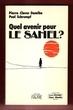 Quel Avenir pour Le Sahel ?. DAMIBA Pierre-Claver , SCHRUMPF Paul