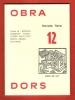 OBRADORS : Novèla Tièra 12. BORRAS , BUSQUET , GARDY , LAFONT , PACH , PETIT , ROCHA-FEIJOO , SAUVAIGO