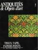 Antiquités & Objets D'art 9 : Tissus , Tapis , Papiers Peints . Heinz Dora , BRUNHAMMER Yvonne , NOUVEL Odile