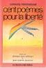 Cent Poèmes Pour la liberté. BEN OTHMAN Ahmed , DARMON Jean-Pierre