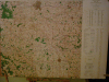 Carte ( Map ) ROANNE , MONTBRISSON  , France : For Use By War and Navy Departement Agencies Only , Not for Sale or Distribution . ARMY MAP Service , ...