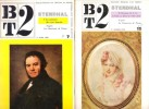 BT2 ,  ( Bibliothèque De Travail Second degré ) n° 7 , n° 15  STENDHAL  I et II + 16 Fiches De Travail Supplément Au n° 7. FREINET Célestin , ...