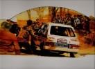 Plaquette sur Les Rallyes Pour Citroën Avec 7 Feuilles Indépendantes. ARRIGONI NERI Jean-François
