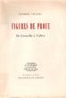 Figures De Proue , De Corneille à Valéry. CHAZEL Pierre