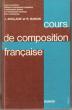 Cours De Composition Française , Lycées Techniques , Collèges D'enseignement Secondaire , D'enseignement Général et D'enseignement Technique , Cours ...