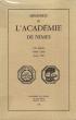 Mémoires de L'académie De Nîmes . VII° Série . Tome LXIII . Année 1984 . Collectif