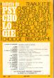 Bulletin De Psychologie N° 287 Tome  XXV  N° 296 . 1971-1972 ( 5 - 7 )  . Collectif