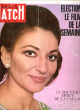 Paris Match N° 1045 . 17 Mai 1969 : Election , Le Film de La Semaine . Le Nouveau Début De La Callas . CARTIER René , PROUVOST Jean