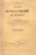 Histoire Des Travaux et Des Idées De Buffon . FLOURENS , P.