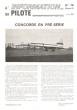 L'information Du Pilote N° 74 . 29 Décembre 1971 : Concorde En Pré-Série. LABADIE Pierre L. , Directeur De Publication