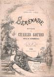 Sérénade à Madame Lefébure-Wély . Partition Vocale et Instrumentale . GOUNOD Charles  , HUGO Victor