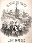 Les Soeurs Des Chouans Duo Dramatique Pour Piano et Voix. BORDESE Luigi  , Al. FLAN & DU CAMP