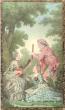 Ensemble de Trois Reproductions De Gravures Du XVIII° Siècle En Couleurs ; Banjo , Clavecin et Peinture . Anonyme