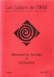 Les Cahiers De l'IRSA  n° 1 - Mars 1997 - : Mouvements Sociaux et Exclusions . BROHM Jean-Marie ( sous La Dir .)