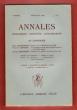 Annales n° 2 . Avril-Juin 1948 : Propos Sur La Révolution De 1848 - La Question Sociale Dans L'armée Française Au XVIII° Siècle - Industrie et Société ...