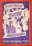 Les Sabots d'Hélène : Grand Prix Du Disque 1954 . BRASSENS Georges