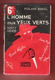 L'Homme Aux Yeux Verts . ( Husky Voice ) . DANIEL ROland