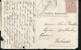 Carte postale du châlet familal de l'enfance de Boris Vian. 90 x 120 mm.. [VIAN Boris]
