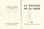 Le Passage de la ligne. SIMENON (Georges)