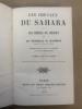 Les chevaux du Sahara et les moeurs du désert. 5ème édition, revue et augmentée avec des commentaires par l'Emir Abd-El-Kader. DAUMAS E Général