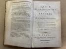 Génie du Christianisme, ou Beautés de la Religion Chrétienne. CHATEAUBRIAND François-René de