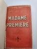 Madame Première. Vienne, Ternet-Martin, 1948. . TARDIF  Etienne.