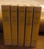 Les semailles et les moissons (t1), Amélie (t2), La Grive (t3), Tendre et violente Elisabeth (4), La rencontre (t5),   Plon 1953, réédition 1962 A+L ...