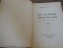 La duchesse de Langeais . BALZAC Honoré de