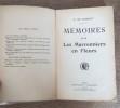 Mémoires ** Les marronniers en fleurs  . DE GRAMONT Elisabeth