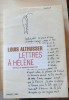 Lettres à Hélène 1947-1980 . ALTHUSSER Louis