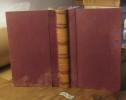 Œuvres de Walter SCOTT Tome XII Le pirate  Paris, Furne, Pagnerre, Perrotin Libraires-éditeurs 20e édition 1855 A+L. SCOTT Walter