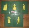La lumière des Justes 5 volumes  1/Les Compagnons du coquelicot (1959) + 2/La Barynia (1960) + 3/La Gloire des vaincus (1961) + 4/Les Dames de Sibérie ...