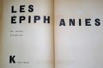 Les Épiphanies. Pichette Henri