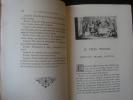 Les Colloques nouvellement traduits par Victor Develay et ornés de vignettes gravées à l'eau-forte par L. Chauvet. 3 tomes, complet. Erasme. L. ...
