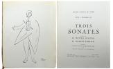 Théâtre National de l'Opéra, Jeudi 10 novembre 1938. Trois sonates exécutées par M. Bruno Walter et M. Jacques Thibaud au profit de la Société de ...