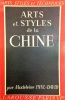 Arts et Styles de la Chine. PAUL-DAVID Madeleine
