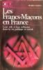 Les Francs-Maçons en France. MARIEL Pierre