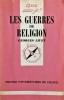 Les Guerres de religion : 1559-1598. LIVET Georges