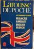 Dictionnaire bilingue français anglais english french. MERGAULT Jean