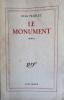 Le Monument (roman). TRIOLET Elsa