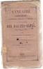 Annuaire administratif, ecclésiastique, commercial et statistique du département des Hautes-Alpes Année 1859. Anonyme