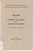 Actes du premier colloque des sociétés savantes tenu à Lyon, 7 avril 1964. Anonyme