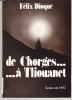 De Chorges ... à Tliouanet. DIOQUE (Félix)