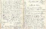 L.A.S. adressée à Léon Vanier. 17 février 1888. 4 pages in-12.. VERLAINE Paul