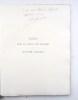 Notes sur la vie et sur les oeuvres de Honoré Daumet 1826-1911. Précédées d'une préface de Léon Heuzey.. GIRAULT (Charles) - DAUMET (Honoré)